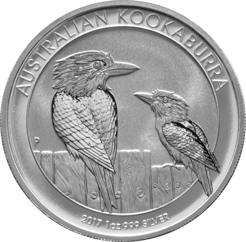 2017 1oz Silver Kookaburra