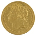 1823 Gold Sovereign