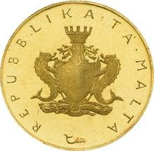 Maltese £10 1975 Maltese Falcon Proof