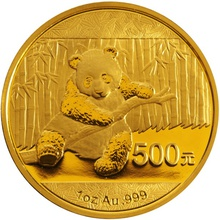 2014 1oz Gold Chinese Panda Coin