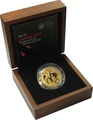 2012 £2 Two Pound Proof Gold Coin: London Rio Olympic Handover Ceremony Boxed