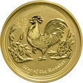 2oz Perth Mint Year of the Rooster 2017 Gold Coin