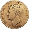 George IV 1828 Half Sovereign