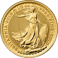 2018 Britannia Half Ounce Gold Coin