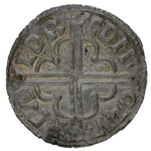 1016-35 Cnut Silver Penny Ealdred on London