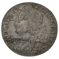 1745 George II Silver Shilling LIMA