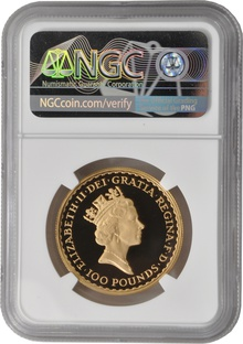 1988 One Ounce Proof Britannia Gold Coin NGC PF69