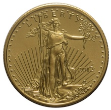 2012 Tenth Ounce Eagle Gold Coin