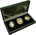 2003 Gold Proof Sovereign Three Coin Set Boxed