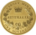 2005 Gold Sovereign - Sydney Mint Elizabeth II Old Head