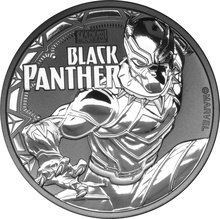 2018 Black Panther 1oz Silver Coin Gift Boxed