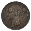 1845 VIII Queen Victoria Silver Crown