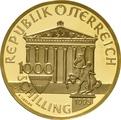 1995 Austrian 1000 Schilling Gold Coin