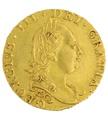 1777 George III Half Guinea Gold Coin