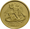 Piedfort 1/4 (1/2) Ounce 1994 Angel Gold Coin