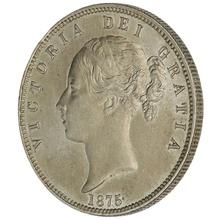 1875 Victoria Silver Halfcrown
