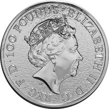 1oz Platinum Coin, The Lion - Queen's Beast 2017