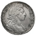 1697/8 7 William III Silver Milled Halfcrown RARE