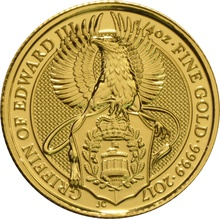2017 1/4oz Gold Coin, The Griffin - Queen's Beast