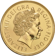 2000 - Gold £5 Brilliant Uncirculated Coin Boxed