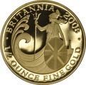 2008 Half Ounce Proof Britannia Gold Coin