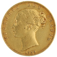 1838 Gold Sovereign