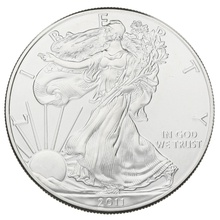 2011 1oz American Eagle Silver Coin