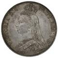 1887 Victoria Silver Crown