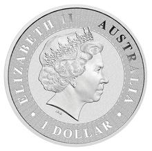 2018 1oz Silver Australian Kangaroo Coin