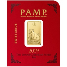 PAMP Gold Multigram x8 Pig Bars Minted