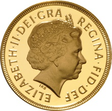 2004 Gold Sovereign - Elizabeth II Fourth Head Proof