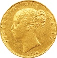 1846 Victoria Young Head Gold Sovereign