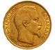 1852 20 French Francs - Napoleon III Bare Head - A