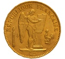 1878 20 French Francs - Guardian Angel - A