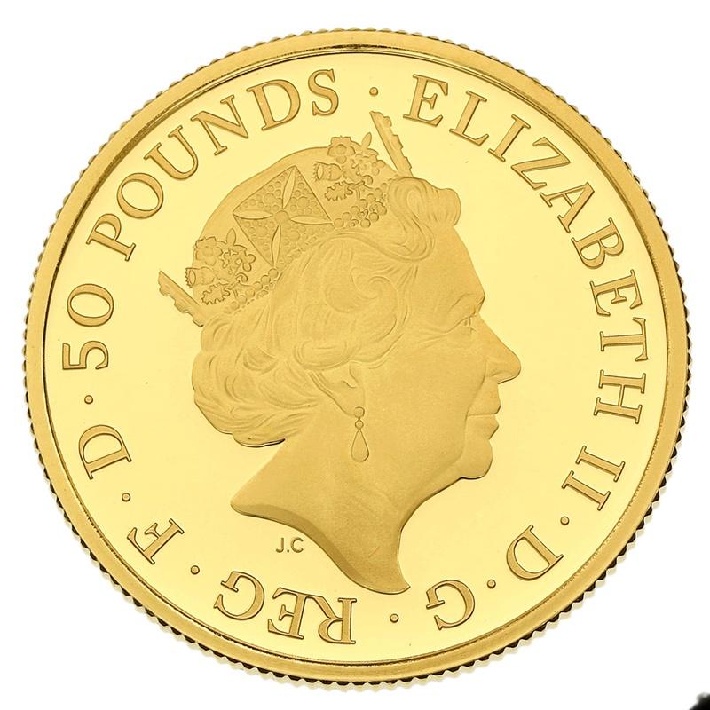 2019 Half Ounce Proof Britannia Gold Coin