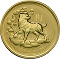 2018 2oz Perth Mint Year of the Dog Gold Coin