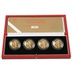 2002 £2 Two Pound Proof Gold Coin Set Commonwealth Games Collection Boxed