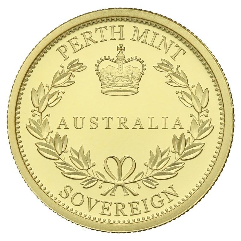 2016 Australian Gold Proof Sovereign - Elizabeth II Old Head