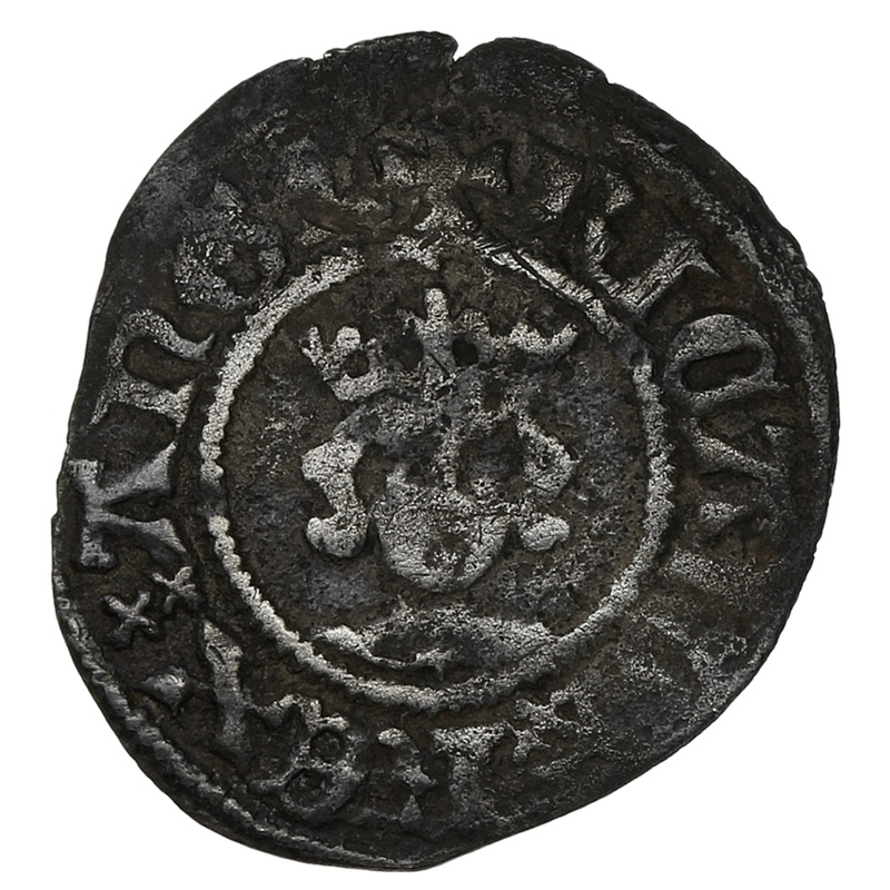 1377-99 Richard II Hammered Silver Halfpenny