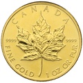 2010 1oz Canadian Maple Gold Coin