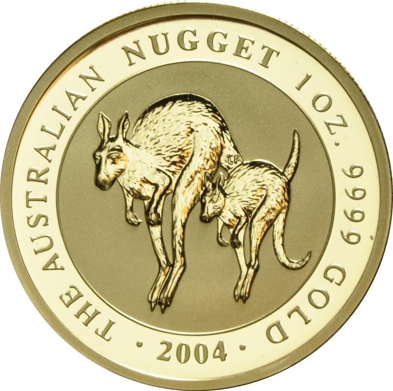 2004 1oz Gold Australian Nugget