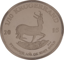 2015 Proof Tenth Ounce Krugerrand
