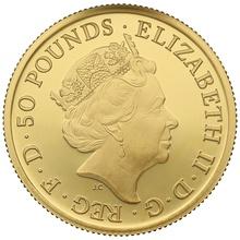 2017 Half Ounce Proof Britannia Gold Coin