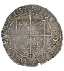 Elizabeth I Shilling - Good Fine {1-17-G001C}