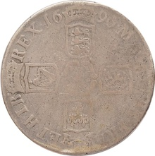 1696 William III Silver crown