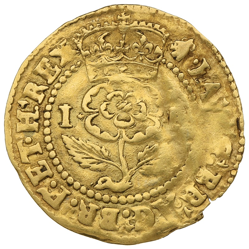 James I Thistle Crown Gold Coin