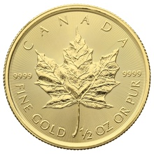 2019 Half Ounce Gold Maple