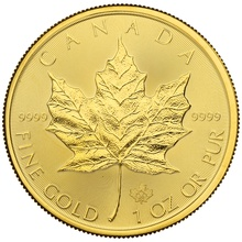 2020 1oz Canadian Maple Gold Coin