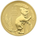 2020 1oz Perth Mint Year of the Mouse Gold Coin