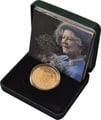 2002 - Gold £5 Proof Crown, Queen Mother Memorial Boxed